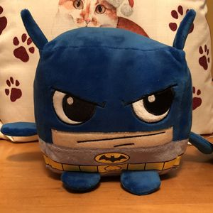 "Six Flags Square Batman Stuffed Animal About 8"" for Sale in Waukegan, IL"