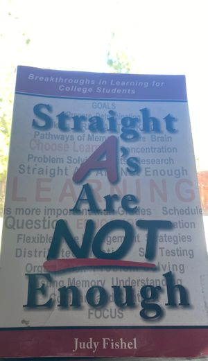 Straight A's are not enough - college book for Sale in Kennewick, WA