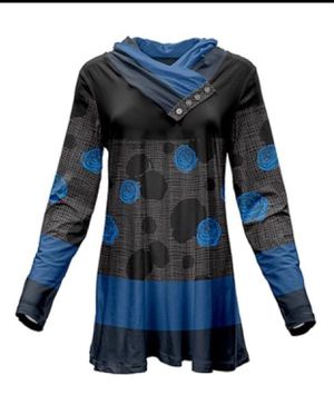 Black and Blue tunic L (new) for Sale in East Cleveland, OH