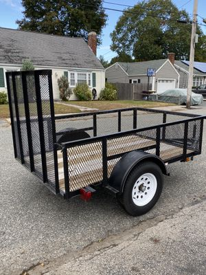 5x8 utility trailer for Sale in Weymouth, MA