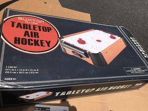 Table air hockey set, no batteries for Sale in Santa Clara, CA