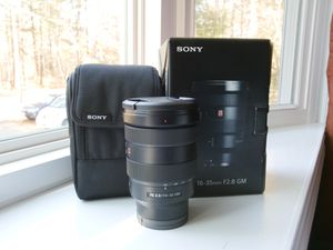 Sony 16-35 f2.8 GM Wide Angle FE Zoom Lens for Sale in Quincy, MA