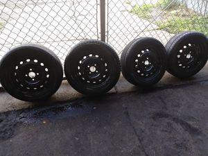 06 Chevy Aveo tires and wheels......14 inch for Sale in Cleveland, OH