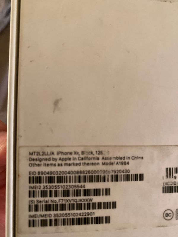 iPhone Xr 168GB