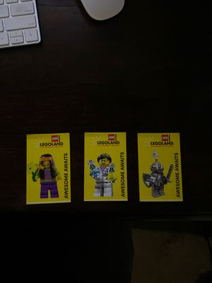 3 Legoland Tickets - Valid Through 11/22/19 for Sale in Los Angeles, CA