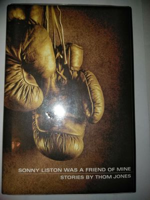 """Signed by THOM JONES a hard cover book """"Sonny Liston"""" boxer for Sale in New York, NY"""