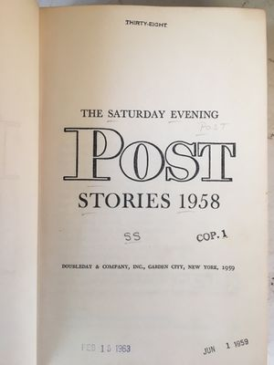 Post Stories 1958 for Sale in San Gabriel, CA