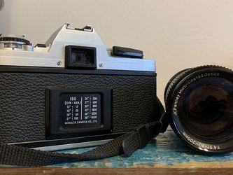 Minolta X-370 SLR Film Camera - 2 Lenses for Sale in Wimberley,  TX