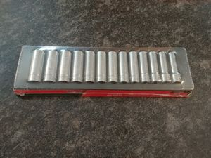 """Snap-on Tools 1/2"""" drive metric deep socket set for Sale in Romeoville, IL"""