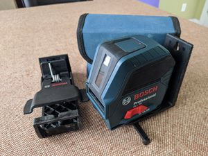 Bosch 50ft Self Leveling Cross Line Laser Level GLL 50 Sealed Package for Sale in Huntersville, NC