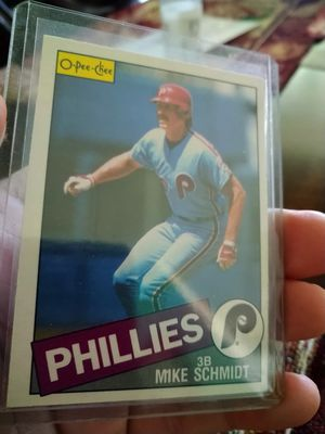 Mike Schmidt 1981-1985 Topps Baseball Cards Lot for Sale in Port Richey, FL