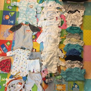 Baby Boys Clothes (Newborn-6 Months). for Sale in Westminster, CA