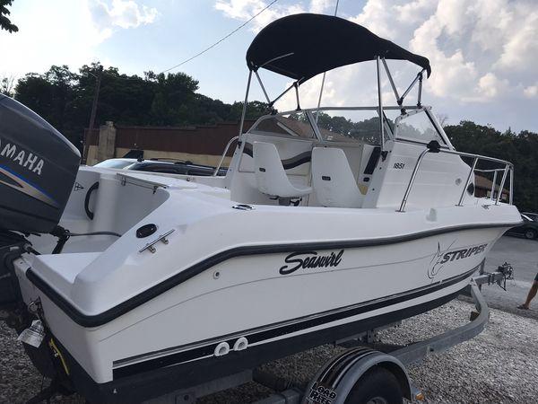 2003 Striper Seaswirl 150 outboard motor excellent condition $12,000