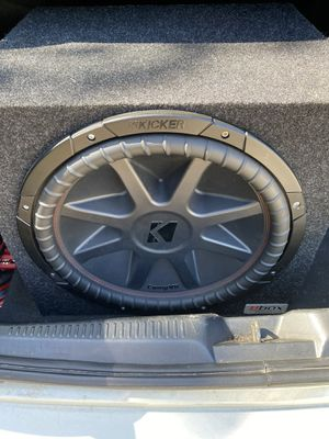 "Kicker comp vr""15 with jbl gtr 1001 for Sale in Inman, SC"