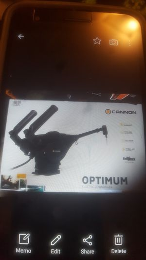 Cannon optimum electric down riggers brand new for Sale in Federal Way, WA