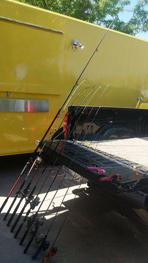 Cañas de pescar ,fishing rods for Sale in Syracuse, UT