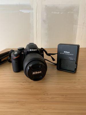 Nikon D3200 24.2 MP DSLR Camera Kit w/ AF-S DX 18-55mm lens for Sale in Seattle, WA