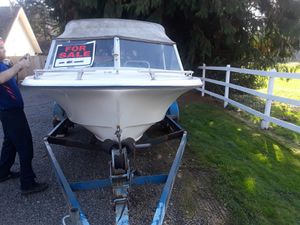21 foot fiberglass boat for Sale in Everett, WA