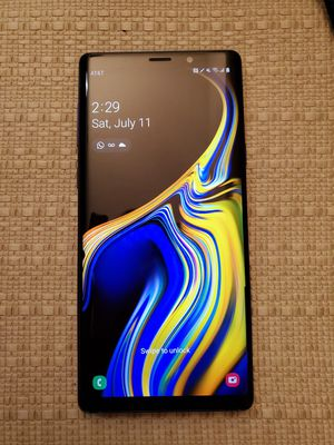 Samsung Note 9 Unlocked 128gb clean imei good condition for Sale in Aventura, FL