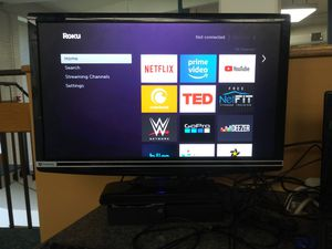 Gateway 23 inch widescreen LCD display with HDMI DVI and PC ports + Roku for Sale in Washington, DC