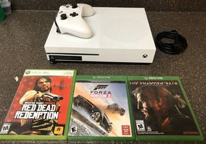 Xbox One S 1TB + 3 Games for Sale in Phoenix, AZ