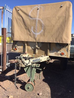 Military trailer $1500 no less for Sale in Laveen Village, AZ