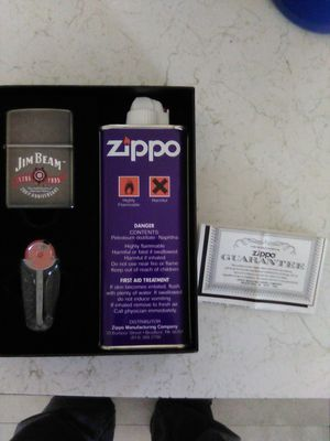 Jim beam 200th anniversary 1795to 1995 zippo in box for Sale in Arvada, CO