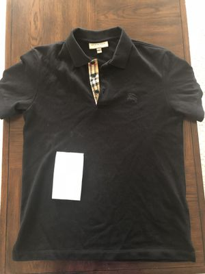 Burberry shirt sz Small with the receipt fits well for Sale in Bowie, MD