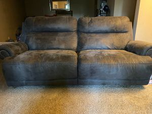 Double recliner excellent condition $350 or best offer for Sale in Vista, CA