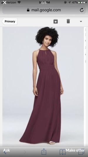 Deep purple Bridesmaid dress for Sale in Trenton, NJ
