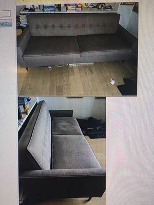 Like new firm yet comfortable luxury couch for Sale in New York, NY