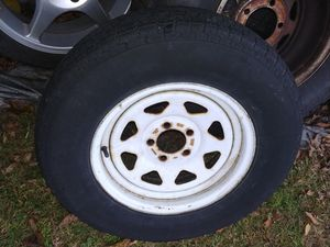 1 Trailer wheel with tire ST205/75/15 goodyear for Sale in Haddon Heights, NJ