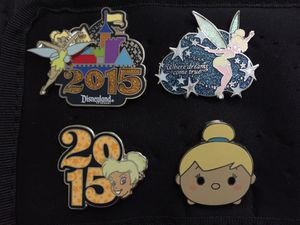 Disney Tinker Bell Pins $5 Each or all for $15 for Sale in Sunnyvale, CA