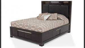 Queen platform storage bed for Sale in Arlington, VA