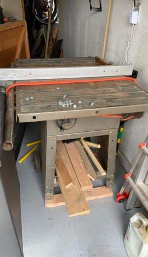 Table saw works for Sale in Fresno, CA