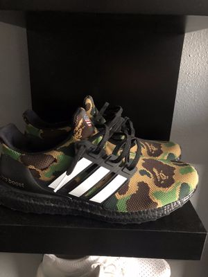 Bape ultra boost shoes for Sale in Tampa, FL