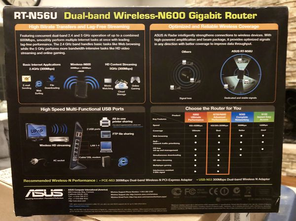 Wireless Router - ASUS N600