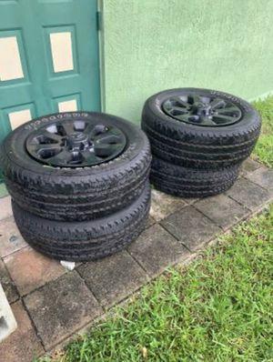 "Ram 2500 20"" oem rims for Sale in Margate, FL"