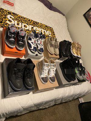 Jordan's, yeezys, Nike, supreme, bape for Sale in Normandy Park, WA