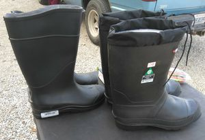 RUBBER WORK BOOTS AND WORK GEAR. READ DETAILS for Sale in St. Louis, MO