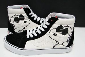 Vans SK8 Hi Reissue Peanuts Joe Cool Black VN0A2XSB0QU Men's Size: 11 for Sale in South Gate, CA