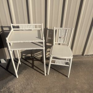 Antique Chair And Shelf for Sale in Katy, TX