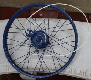 "20"" front wheel with hub brake and cable , old school for Sale in Poinciana, FL"
