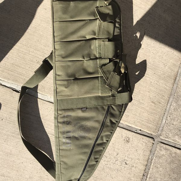 Military Back Pack With Cartridge Straps