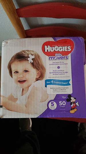 Huggies little movers for Sale in Fresno, CA