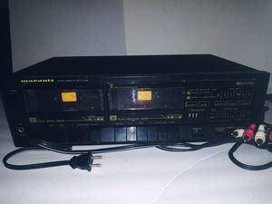 Vintage Marantz 2 deck cassette deck player and modulator. Check ebay comps. for Sale in Wylie, TX