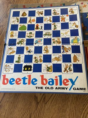 Vintage beetle Bailey board game for Sale in Camden, NC
