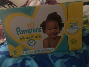 Pampers size 6 for Sale in Waianae, HI