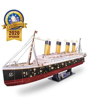 3D puzzle of titanic for Sale in Houston, TX