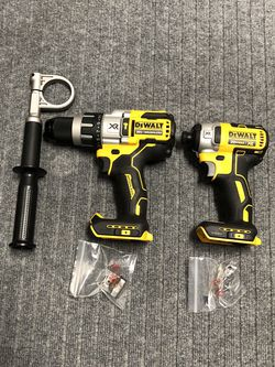NEW Dewalt 20v XR Hammer Drill & Impact Driver Set for Sale in Vancouver,  WA